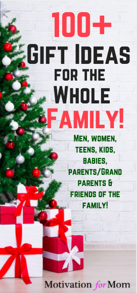 Christmas gift ideas for friends parents like family