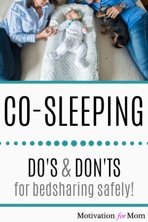 co-sleeping do's and don'ts