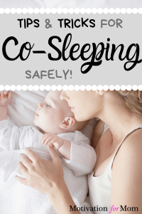 co-sleeping safely
