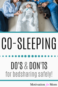 dos and don'ts of co-sleeping, benefits of co-sleeping