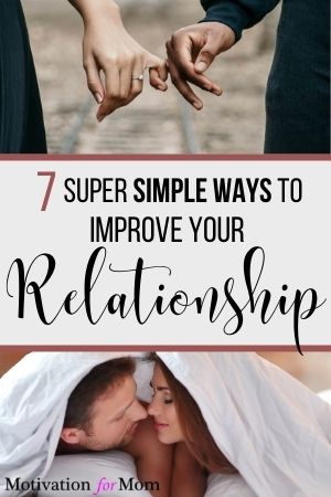simple ways to improve your relationship