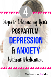 postpartum depression, ppd, postpartum anxiety, get rid of postpartum depression, ppd, after baby,