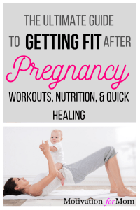 getting fit after pregnancy