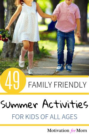 summer activities for kids, summer ideas for kids, summer bucket list