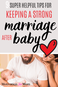 marriage after baby, strong marriage after baby
