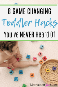 parenting hacks for toddlers, toddler hacks,