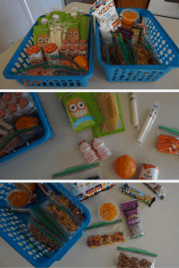 snack station toddler hack