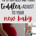 tips for helping your toddler adjust to your new baby
