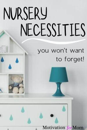 nursery necessities