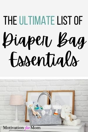 diaper bag esentials