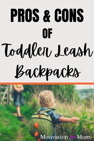 pros and cons of toddler leash backpacks