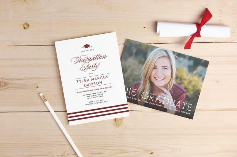graduation invitations, graduation announcements