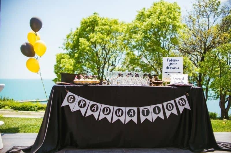 graduation party, graduation decorations