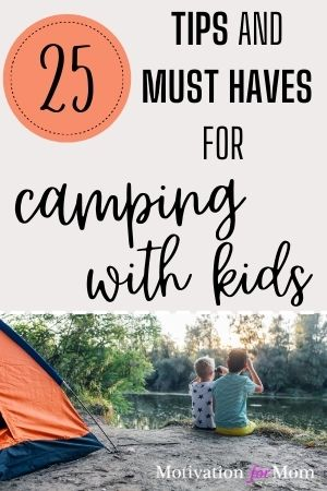 must haves for camping with kids