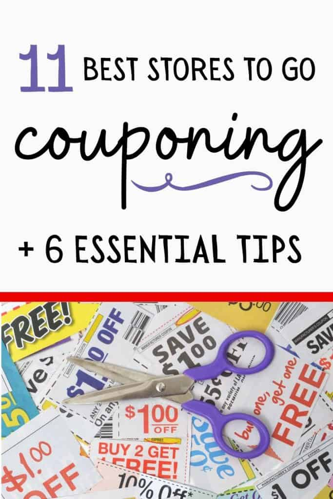 best stores to go couponing, tips for couponing