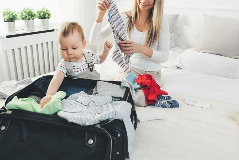 mom packing